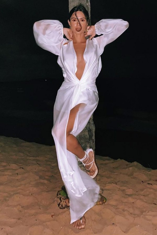 Thaila Ayala - looks das celebridades - reveillon - verão - brasil - https://stealthelook.com.br