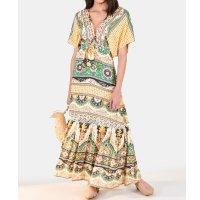 vestido cropped abacaxi de ouro