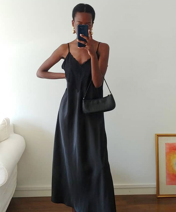 Sylvie Mus - vestido preto - vestido preto - verão - Em casa - https://stealthelook.com.br