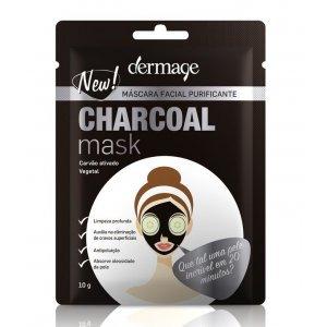 Máscara Facial Charcoal Dermage