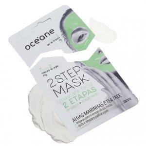 Máscara Facial de Tea Tree com duas Etapas Oceane