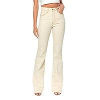 Calça Jeans Osmoze Hot Flare Masculina - Bege