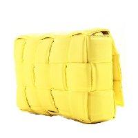 Bolsa entrelacê média 11009990 - Amarelo