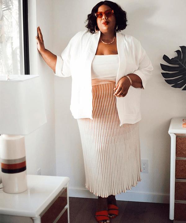 Kellie Brown - como usar looks sociais - como usar looks sociais - verão - Em casa - https://stealthelook.com.br