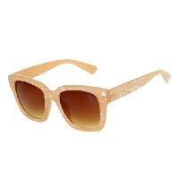 Óculos De Sol Cavalera Quadrado MG0223 Masculino - Bege
