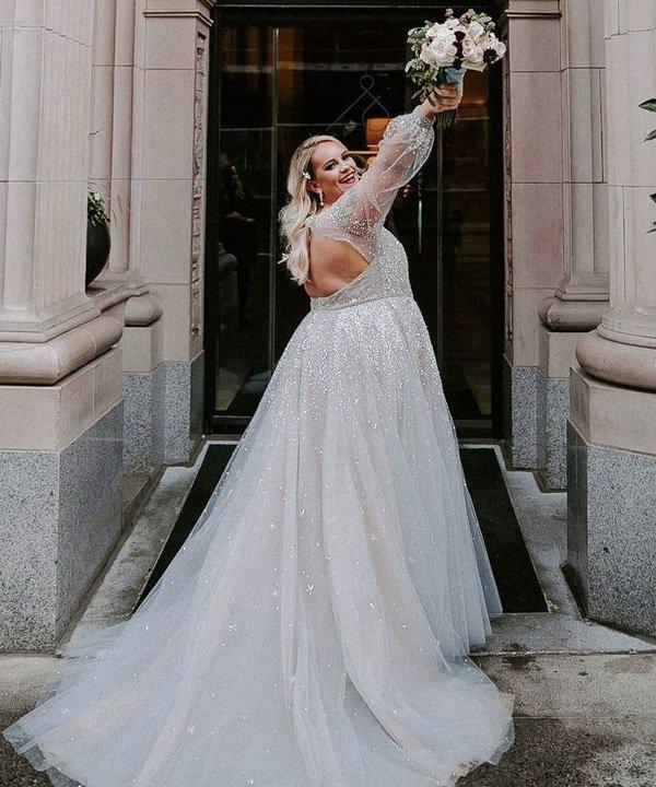 Emily Grace Anderson - tendências para as noivas - casamento 2021 - verão - street style - https://stealthelook.com.br