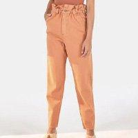 calça semi baggy color