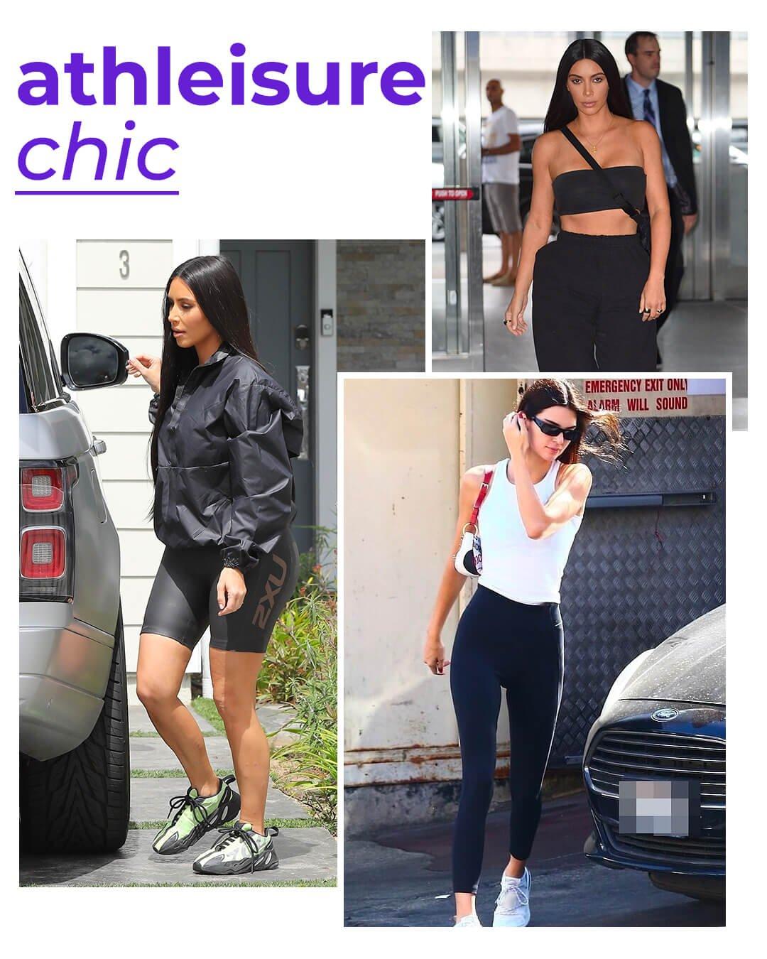 It girls - Athleisure - Kardashians - Verão - Street Style - https://stealthelook.com.br