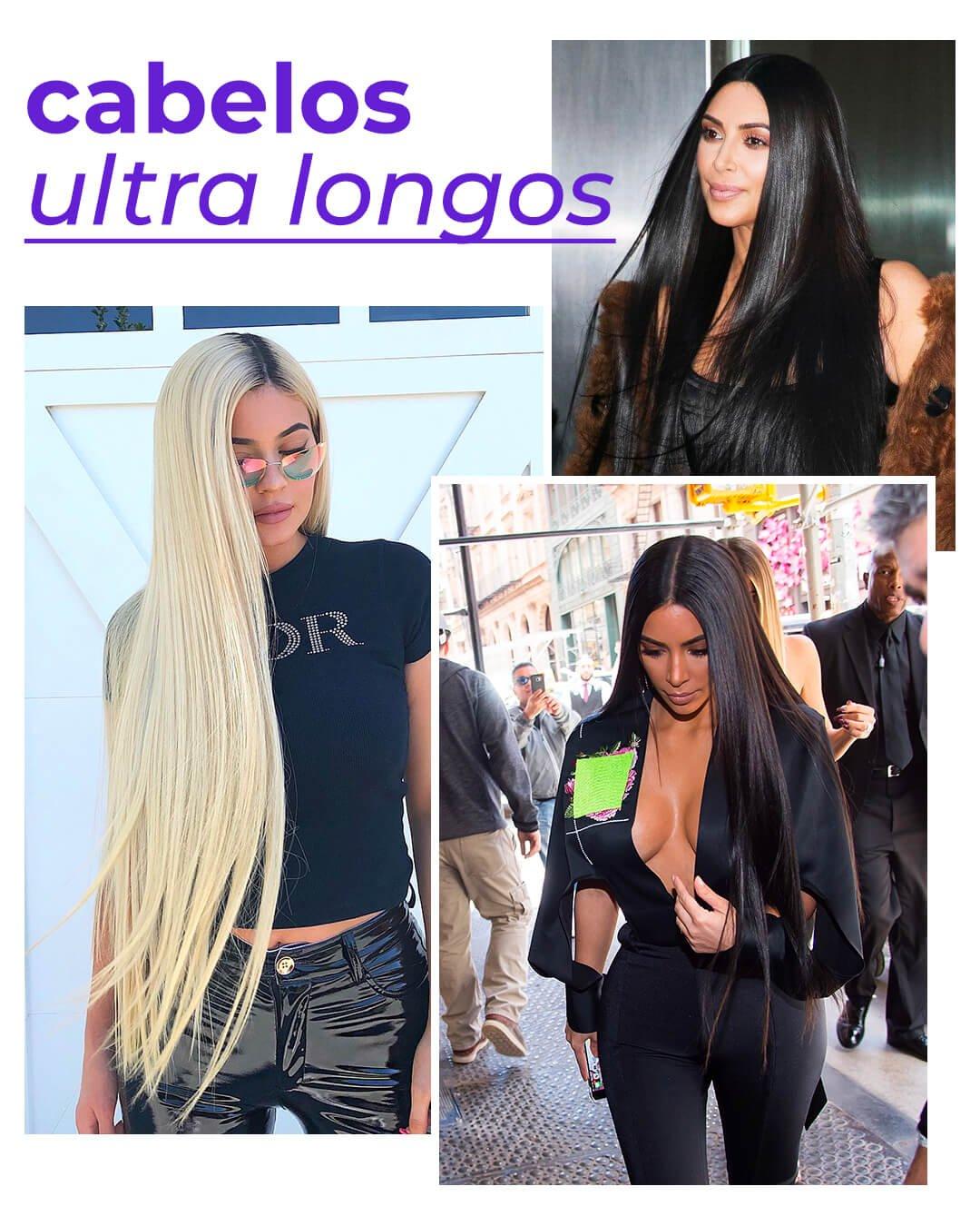 It girls - Cabelos longos - Kardashians - Verão - Street Style - https://stealthelook.com.br