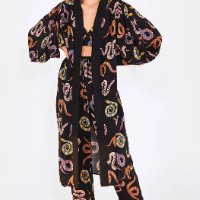 kimono cobras coloridas