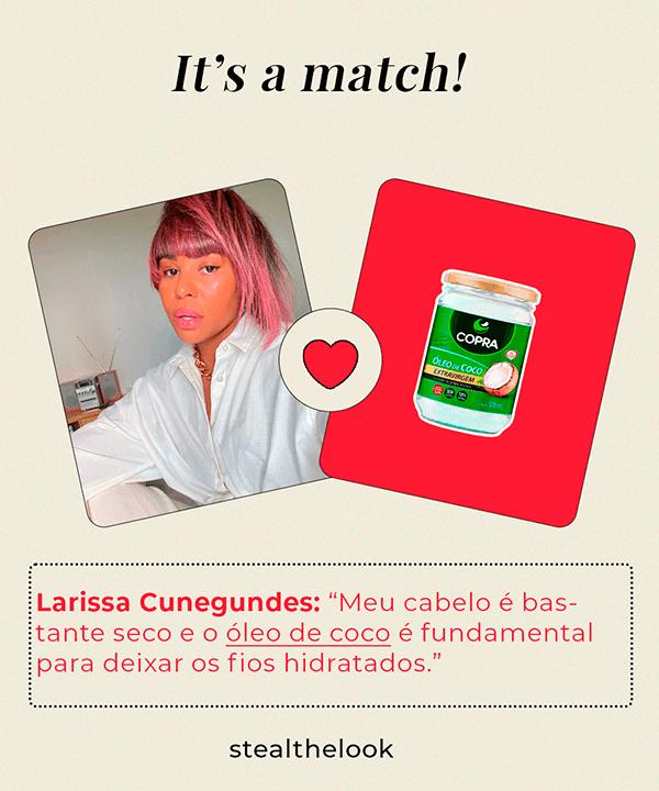Larissa Cunegundes  - camisa branca - óleos capilares  - verão - Em casa - https://stealthelook.com.br