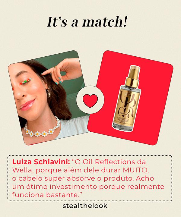 Luíza Schiavini - camiseta branca - óleos capilares  - verão - Em casa - https://stealthelook.com.br
