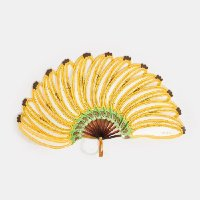 leque banana - amarelo selva - u