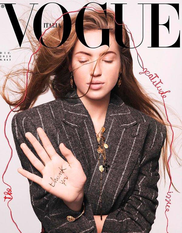 Lila Moss - Vogue Italia - Vogue - Verão - Street Style - https://stealthelook.com.br