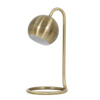 Luminária de Mesa Dourada Metal Cou Inspire