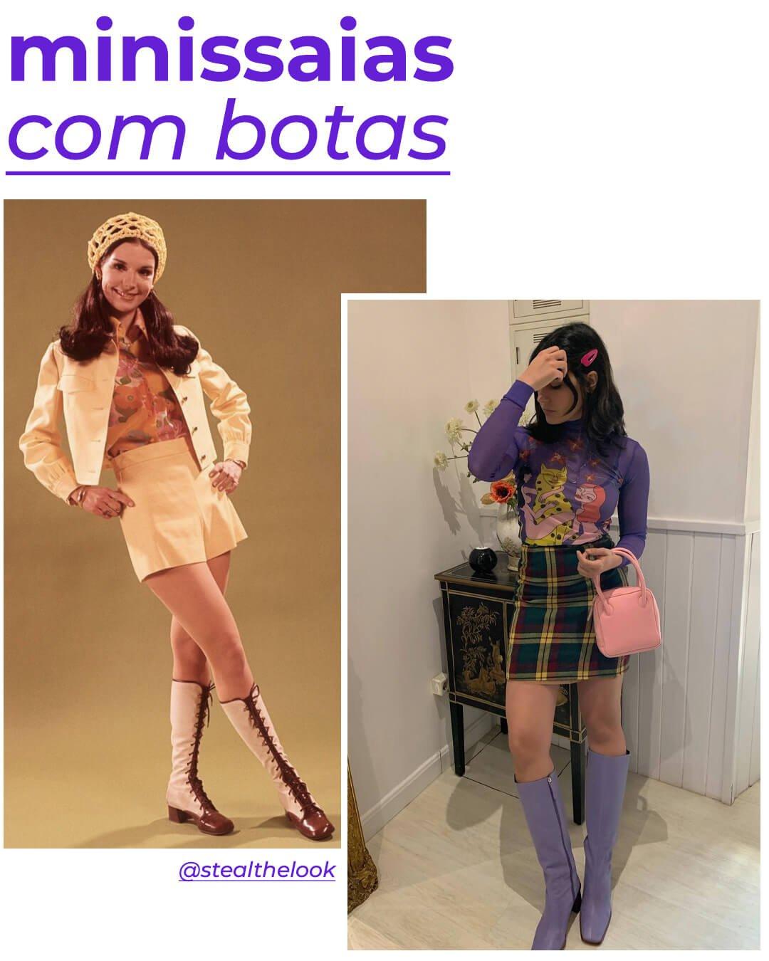 María Bernad - moda dos anos 60 - moda anos 60 - verão - street style - https://stealthelook.com.br