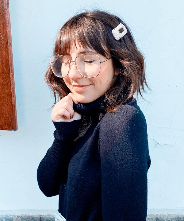 Sofia Stipkovic - penteados com franja - penteados com franja - verão - street style  - https://stealthelook.com.br