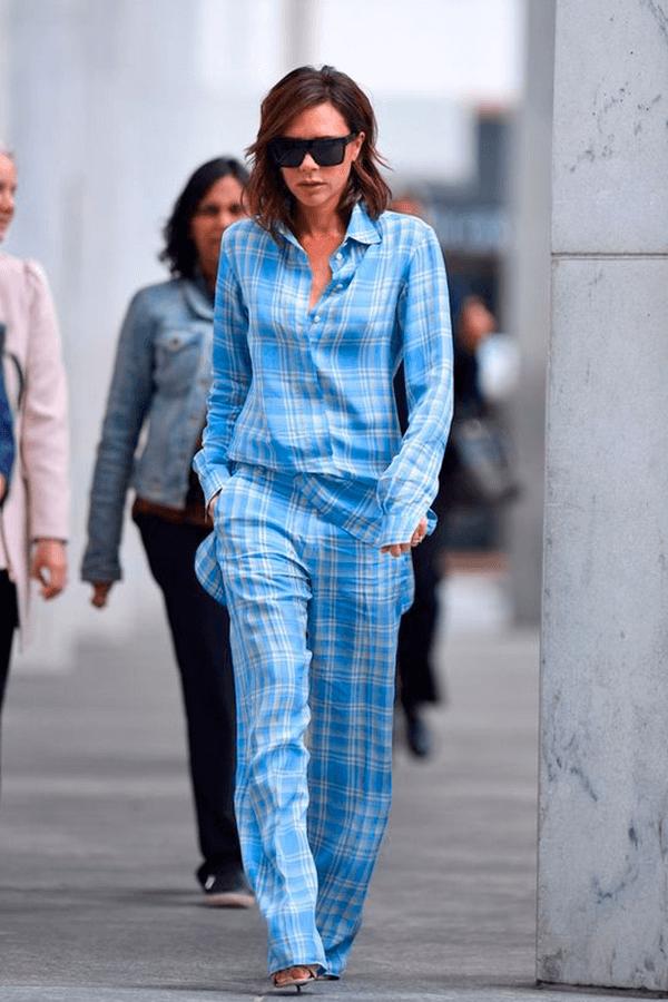 Victoria Beckham - pijama - pijamas no look do dia - verão - street style  - https://stealthelook.com.br