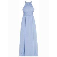 Quintess - Vestido Quintess Longo Azul com Gota nas Costas