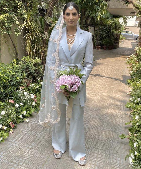 Sanjana Rishi - tendências para as noivas - casamento 2021 - verão - street style - https://stealthelook.com.br