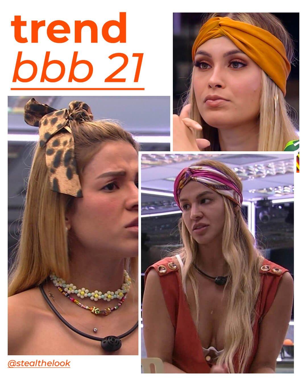 It girls - Lenço - BBB21 - Verão - Em casa - https://stealthelook.com.br