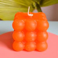 Bubble Candle Laranja