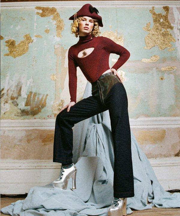 Vivienne Westwood - o que é upcycling - moda sustentavel - verão - street style - https://stealthelook.com.br