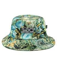 Chapéu Bucket Hat MXC BRASIL Estampado Full Print - Verde