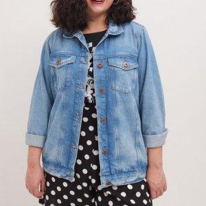Jaqueta Jeans Curve & Plus Size