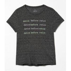 Camiseta Esportiva Estampa Detox Before Retox