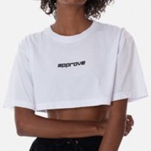 Cropped Regular Approve Flash Branco