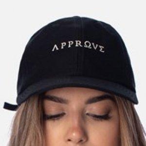 Boné Dad Hat Approve Ruínas Preto