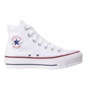 Converse Chuck Taylor All Star Branco Platform Branco Tamanho 33