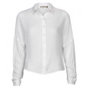 Camisa Feminina Ampla Off White Tamanho P