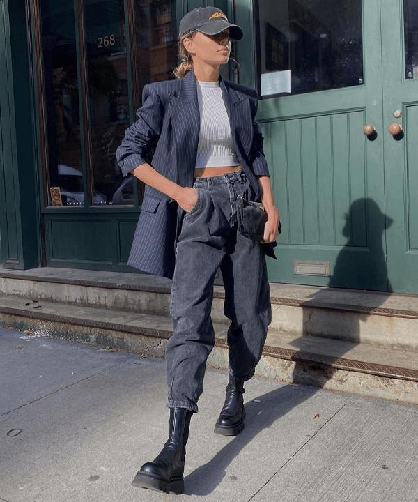 Ashley Brooke - bota tratorada - sapatos - outono - street style - https://stealthelook.com.br