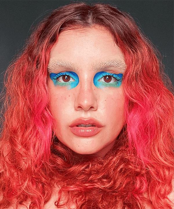 Brenda Hermínia  - maquiagem sobrancelha descolorida - sobrancelha descolorida - outono - brasil - https://stealthelook.com.br