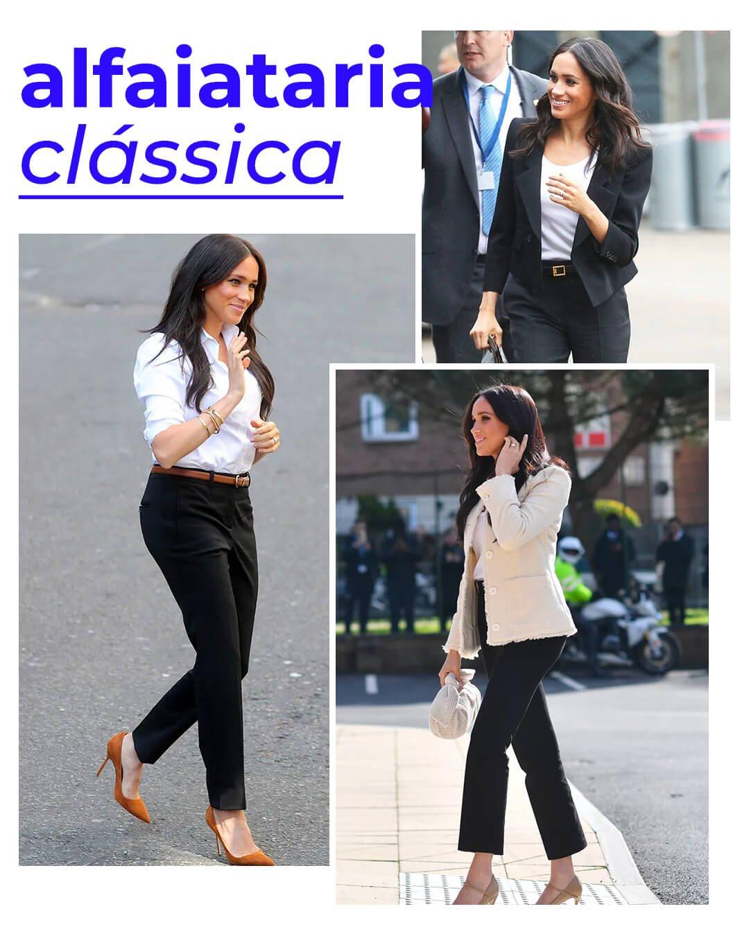It girls - Alfaiataria - Meghan Markle - Verão - Street Style - https://stealthelook.com.br