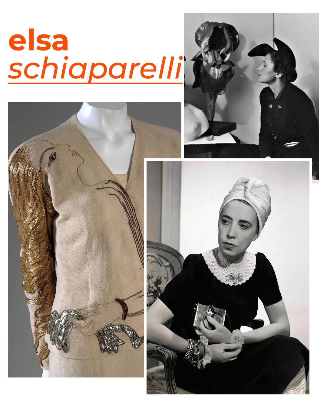Elsa Schiaparelli - mulheres que revolucionaram a moda - dia internacional da mulher - outono - street style - https://stealthelook.com.br
