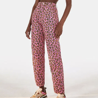 calça onça pop rosa selva