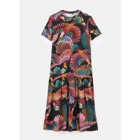 vestido cropped frescor de tucano