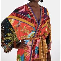 kimono misturinha de lenços - est misturinha de lencos_preto - u