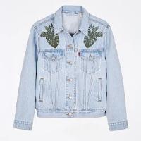 jaqueta jeans arara levis