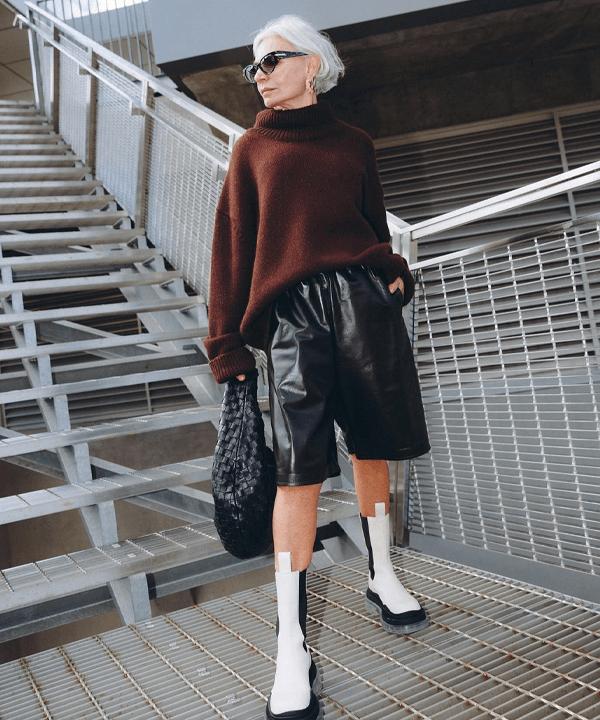Grece Ghanem - bota tratorada - sapatos - outono - street style - https://stealthelook.com.br