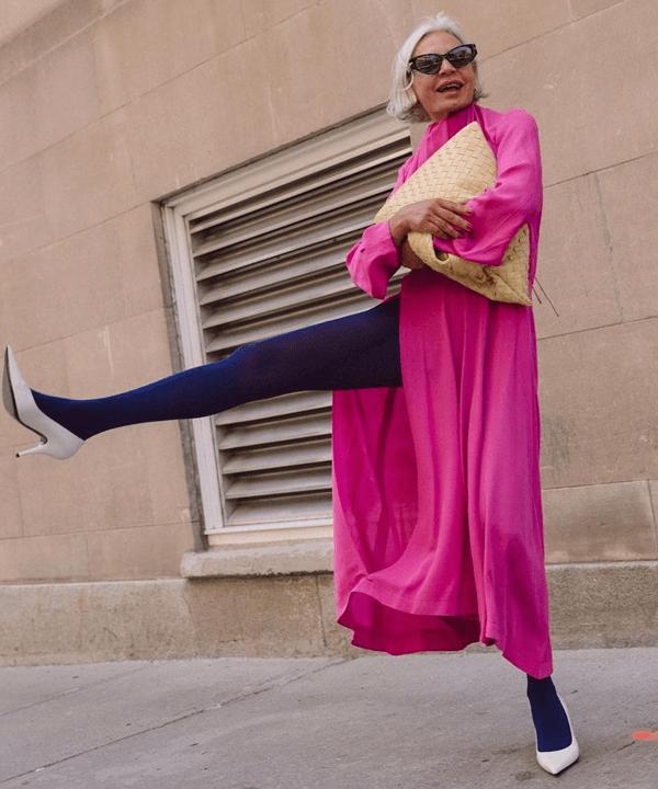 Grece Ghanem - tendências dos anos 80 - looks anos 80 - outono - street style - https://stealthelook.com.br