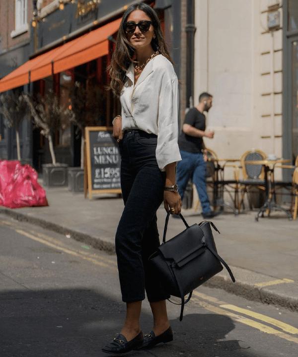 Hannah Desai - looks minimalistas - looks básicos - outono - street style - https://stealthelook.com.br