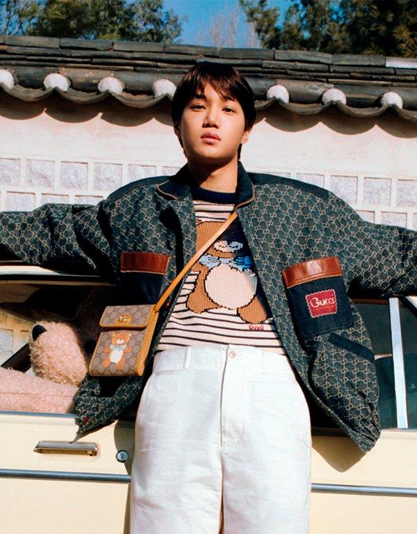 Kpop - Gucci - Kai - Verão - Street Style - https://stealthelook.com.br