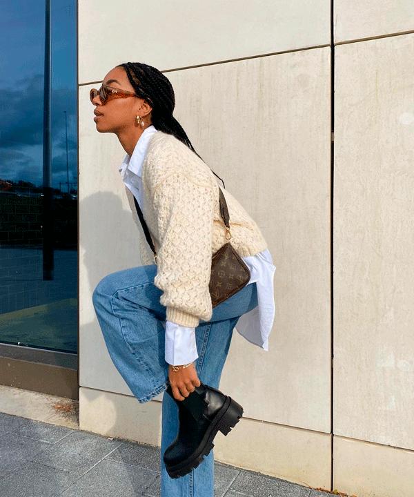 Amaka Hamelijnck - jeans - jeans - outono - street-style - https://stealthelook.com.br