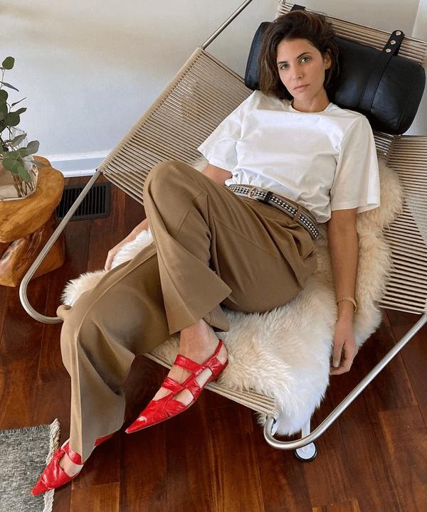 Jen Azoulay - looks minimalistas - looks básicos - outono - street style - https://stealthelook.com.br