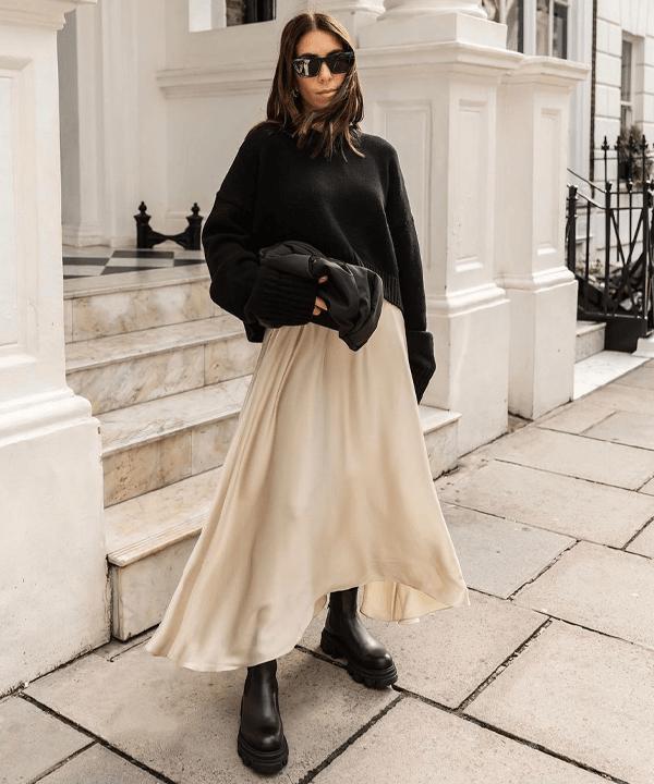 Jessica Skye Stewart - bota tratorada - sapatos - outono - street style - https://stealthelook.com.br
