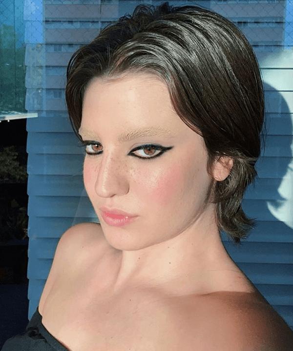 Luisa Leite - maquiagem sobrancelha descolorida - sobrancelha descolorida - outono - brasil - https://stealthelook.com.br